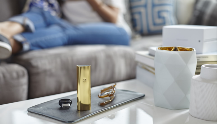 PAX 3 gold home standing