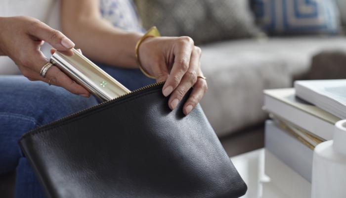 PAX 3 silver lifestyle handbag