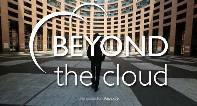 beyond the cloud vaping poster