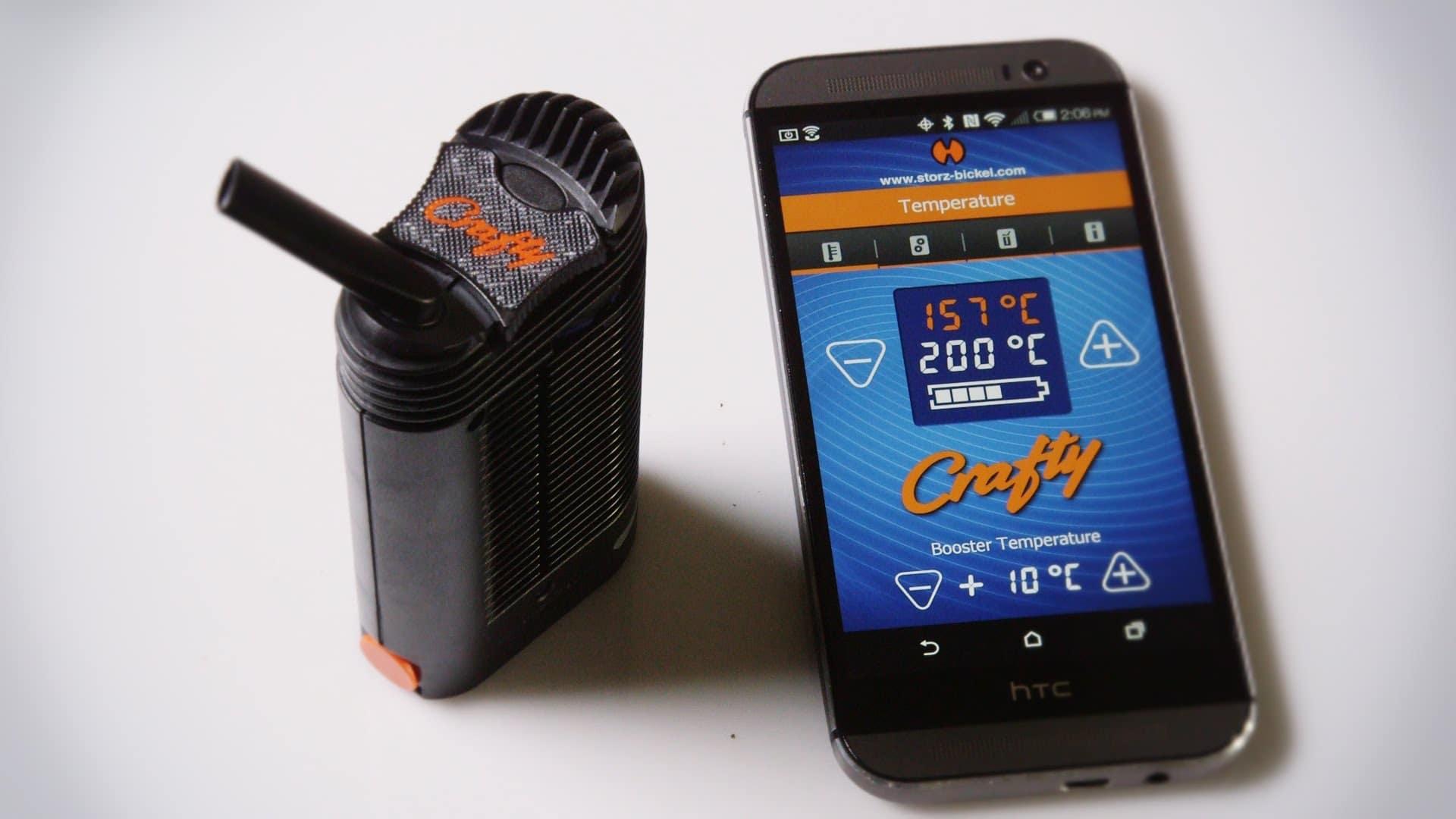Crafty vaporizer Smartphone