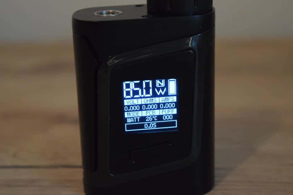 SMOK-AL85 Visual display