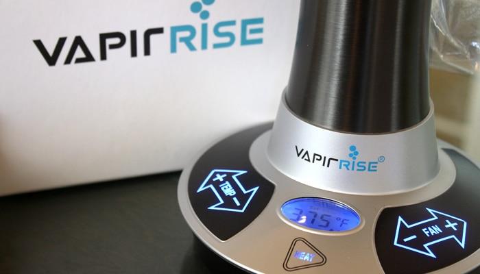 Vapir Rise Vaporizer Temperature