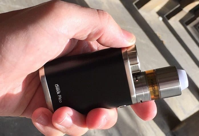 iStick Pico styling and build quality