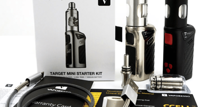 [Small & Stealthy] Vaporesso Target Mini 40W VTC Starter Kit Review