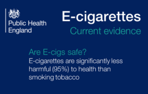England Gov Found E-cigs safer than cigarettes