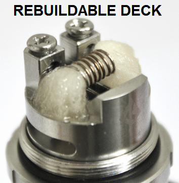 Rebuildable deck