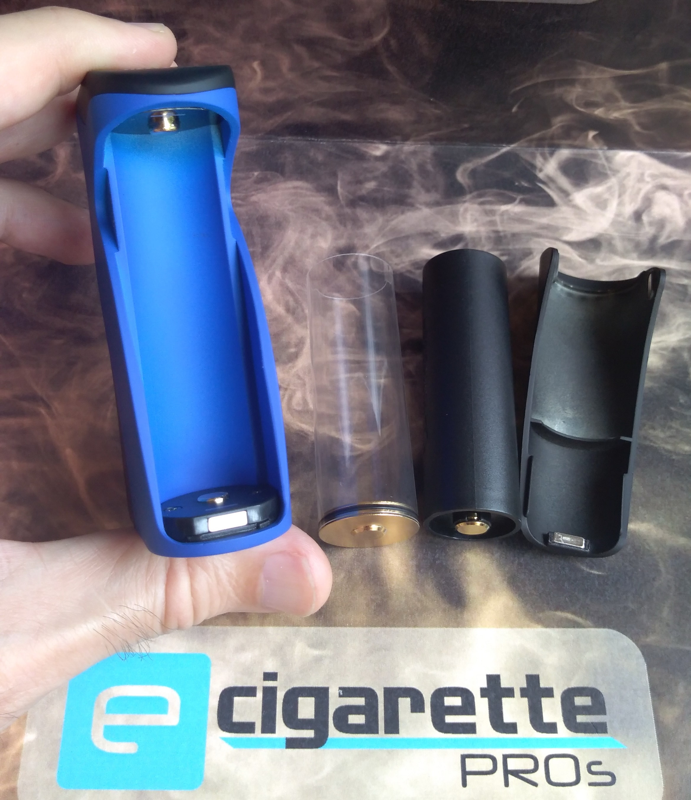 Wotofo Recurve Squonk Box Mod four battery size configuration fail